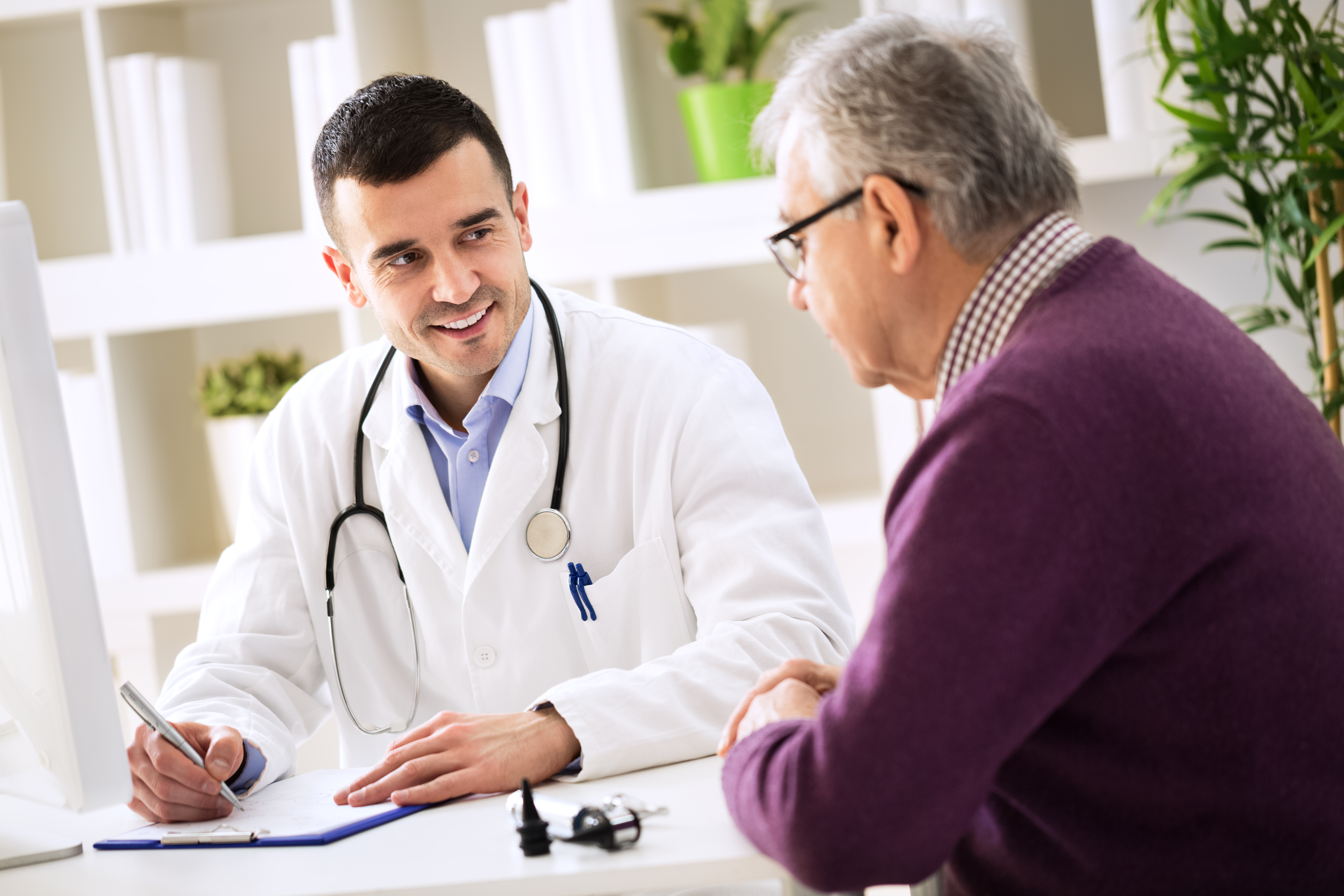 Serious Illness Conversations - doctor patient speaking