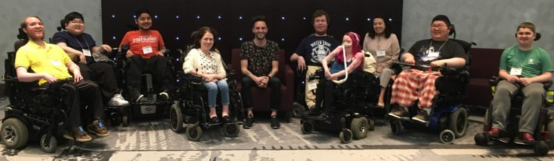 Bridging the Gap-photo of young adults with life limiting illnesses